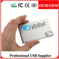 Newest plastic credit card usb 2.0 flash drive promotion gifts for Olympic games , Free sample