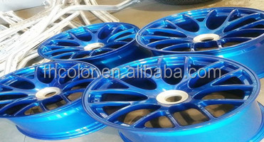 Ultimate epoxy Chrome Powder Coating Paint