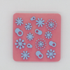 Custoizable Color Snowflake Foam Stamper for Kids