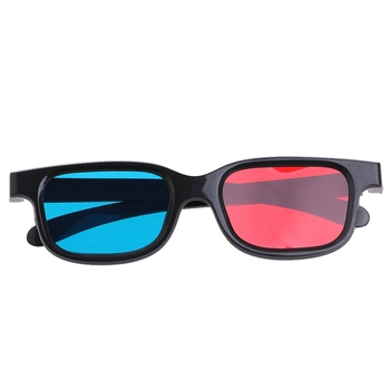 3D DVD Home Theater Movie Cinema Game Projector Universal Red Blue 3D Video Glasses