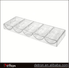 Wholesale Durable clear acrylic display trays