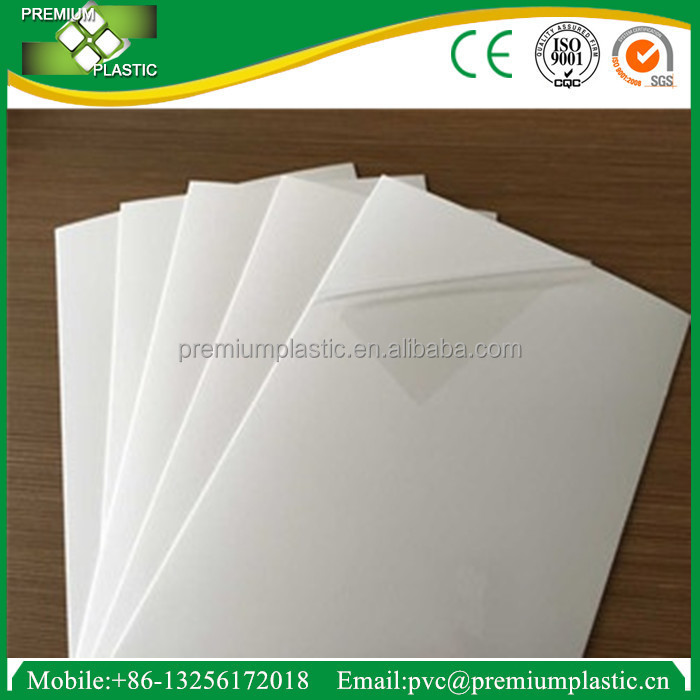Professional manufacture 1.5mm pvc foam board/pvc foam sheet best price for photo album