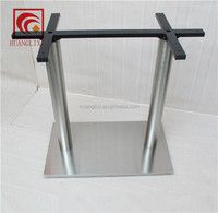 Stainless steel composite plastic table leg, environmental protection table legs, table legs brushed stainless steel hardware
