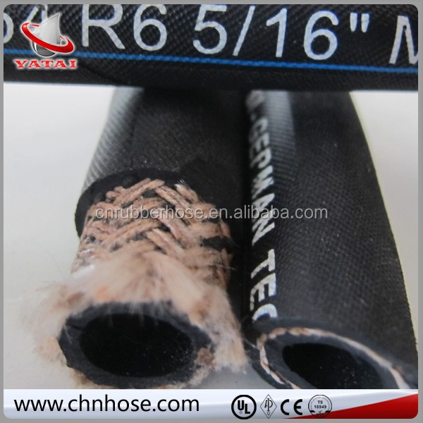 China Top sell top quality SAE/DIN high pressure 20 bar oil resistant rubber air hose R3 R6