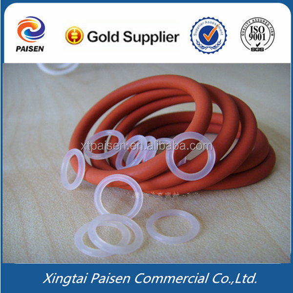 soft clear/ red silicone seal ring/gasket/washer for water filter/pipe/tank/sealant