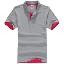 Fashion High Quality Cotton and polyester summer <strong>Men's</strong> polo t shirt