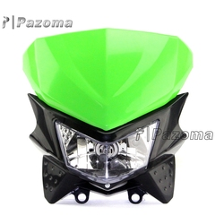Hot Sale Motorbike 12V 35W Supermoto Headlight With Rubber Straps Universal Fit For All Dirt Motorcycle