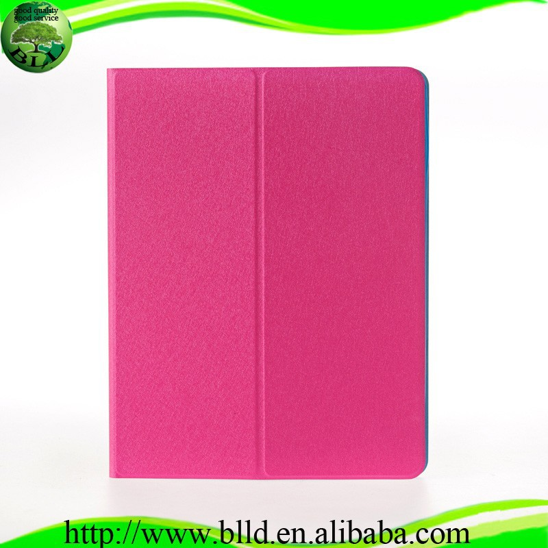 Factory and In stock Luxury Silk Design tablet cover for ipad air 2 leather case