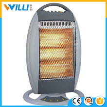 2017 new rechargeable electric room heater Halogen heater Infrared heater 220v with easy change tube system