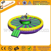Funny for inflatable gladiator jousting ring arena for high quality A6004