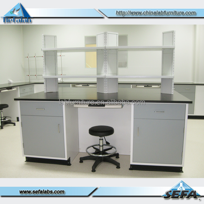 Used School laboratory furniture chemistry laboratory table / physics laboratory workbench for sale