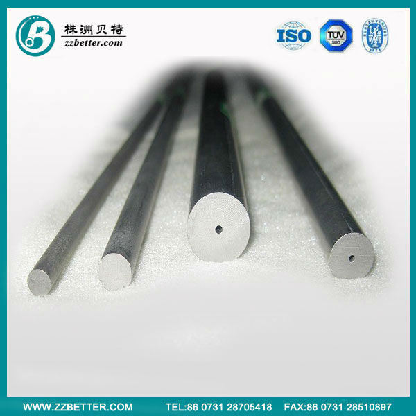 Tungsten Carbide Rod, Tube and Special Tubes with Helical Twisted Coolant Holes