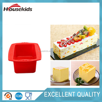 Food Grade Silicone Square Bread Cake Baking Mold Loaf Bakeware Pan