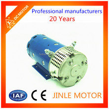 DC Series Wound Motor 24v for Aerial Work