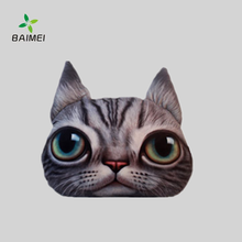 Chinese supplier cat face animal cushion soft pillow for hot sale items