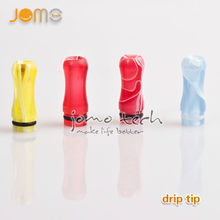 2014 new products Factory price color mouthpiece aluminum e cig 510 drip tip for pen vaporizer from JOMO Tech
