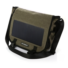 Waterproof custom hot shot solar backpack bag for slim laptop charging