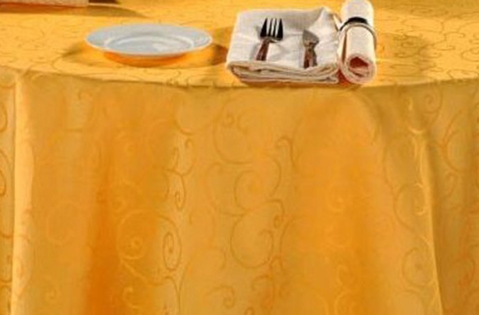 high quality customized size available round cheap tablecloths