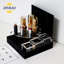 JINBAO New eyelashes makeup cosmetic acrylic organizer drawers storage box