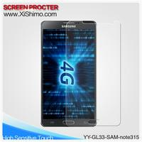 2.5D HD clear tempered glass anti-explosive screen protector for Samsung galaxy note3 with antibacterial