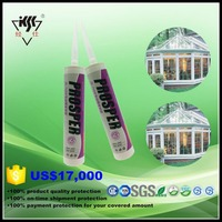 Resistance To High Temperature Mildew Proof Anti Fungus Silicone Sealant