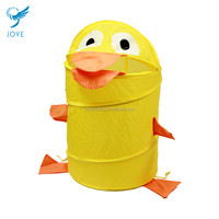 Yellow Duck Folding Laundry Hamper