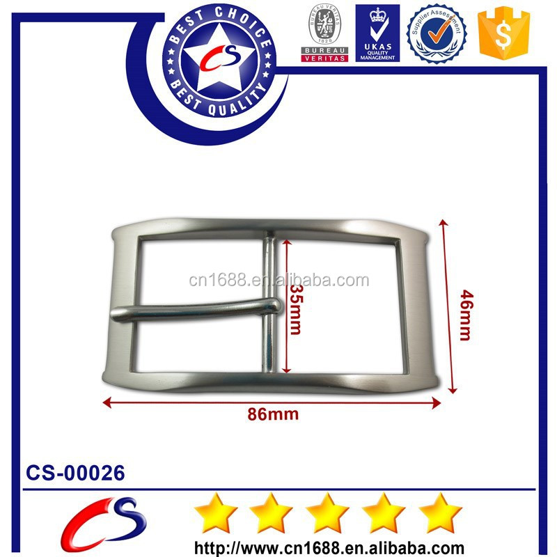 High quality metal types of bib overall belt buckles