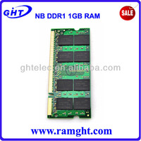 Full compatible 64mb*8 ddr 1gb so dimm latest computer parts