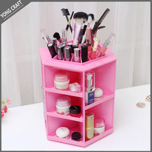 latest innovative products cosmetic storage case rotating beauty ABS display box