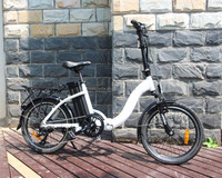 chopper pocket electric bike with mini folding frame from bisek
