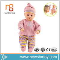 2017 soft baby 14 inch electric full silicone reborn doll for wholesale