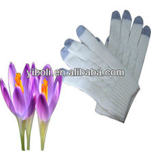 Iphone Custom hand press knitting white trend iphone five fingers touch screen gloves