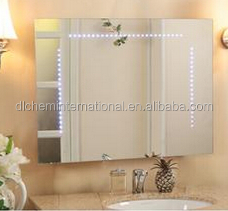 Wall mounted make up led illuminated light mirror for bathroom(OEM & ODM)