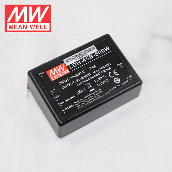 45W 75V Meanwell LDH-45B-700 Constant Current LED Driver 700mA