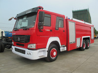 Water Foam Fire Fighting Truck For Sale