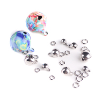 round STAINLESS STEEL waterprevent facebook christmas little smas jingle bells