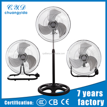 Hot selling crown parts electric 18 inch industrial stand fan