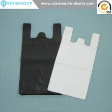 Plastic Bag-Black Plain Embossed T-Shirt Bag Opaque TOTE Formosa Poly Corporation