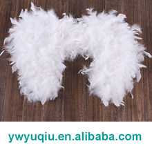 large feather white angel wings