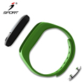 8 Languages App Available Custom Sport Bracelet Bluetooth Tracker Step Distance Calorie Sleep Management