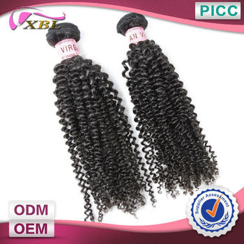 Sew In Human Hair Weave Hair Afro Kinky Curly 100% Indian Human Hair Extensions