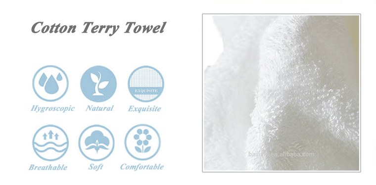 China Supplier the better towel 100 % cotton white bath hotel towel sets