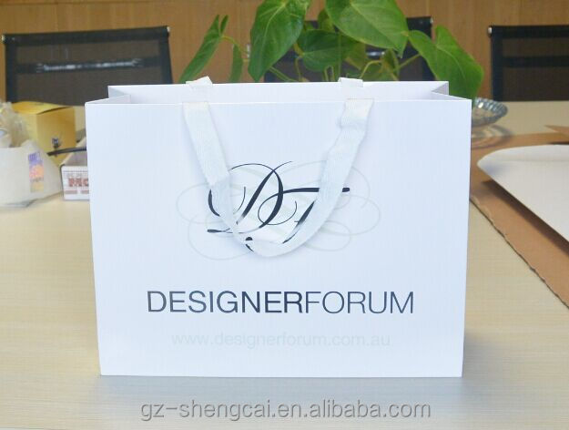 Fashion kraft paper bag manufacturers /kraft paper for shopping