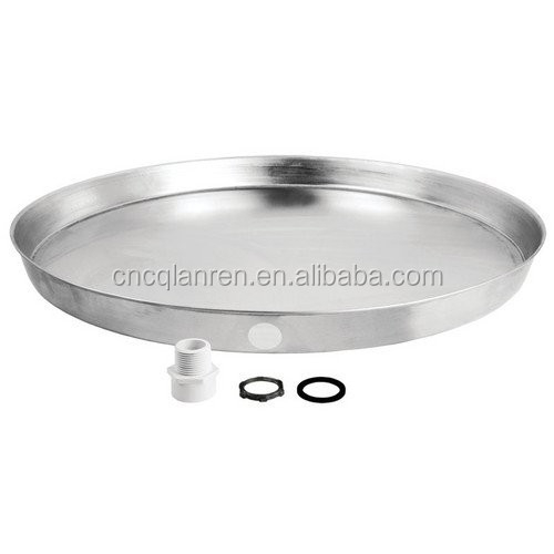 Aluminium water heater drain pan