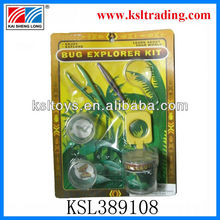 promotion plastic kids bug explorer kit
