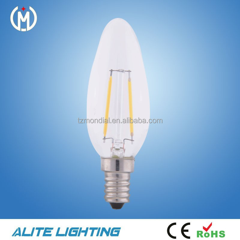 Patent LED Bulb E14 4W LED Bulb Light filament C35 Candle lamp