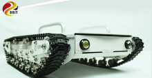Big Load Tank Car Chassis Tracked Car Obstacle-surmounting Robot parts for Remote Control