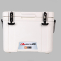 Rotomolded portable drug cooler box
