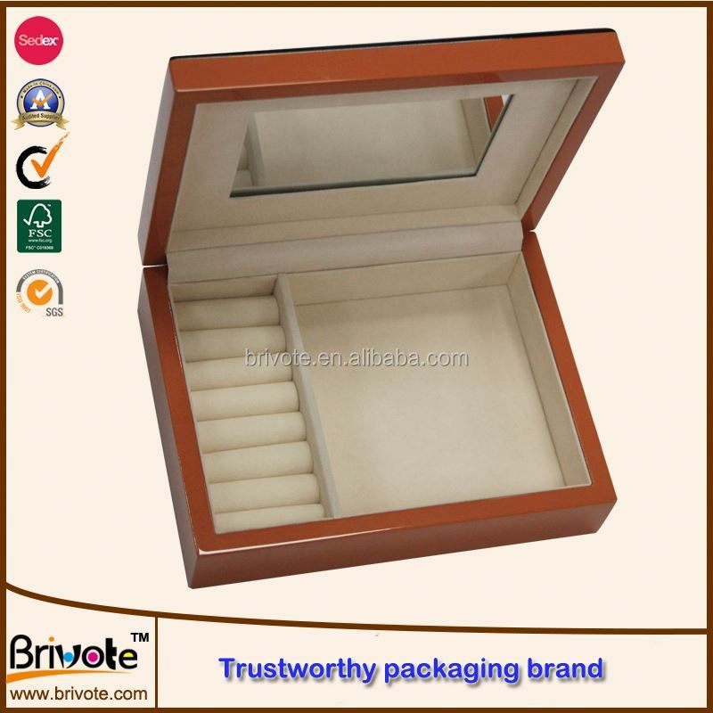 wood box vaporizer/wooden necktie box/wooden box flat pack