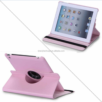for Apple iPad 2 iPad 3 iPad 4 Case 360 Rotating Leather Stand Screen Protector+Stylus Cover for iPad 2 3 4 / Mini 1 2 3 / Air 2
